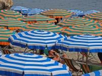 Cinque Terre - Umbrellas