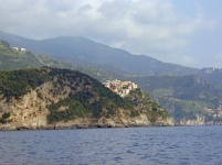 Cinque Terre - town peeking out