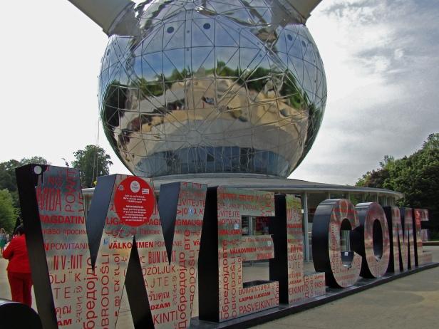 Atomium - Welcome