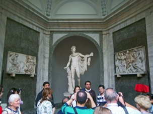 Vatican Courtyard 6