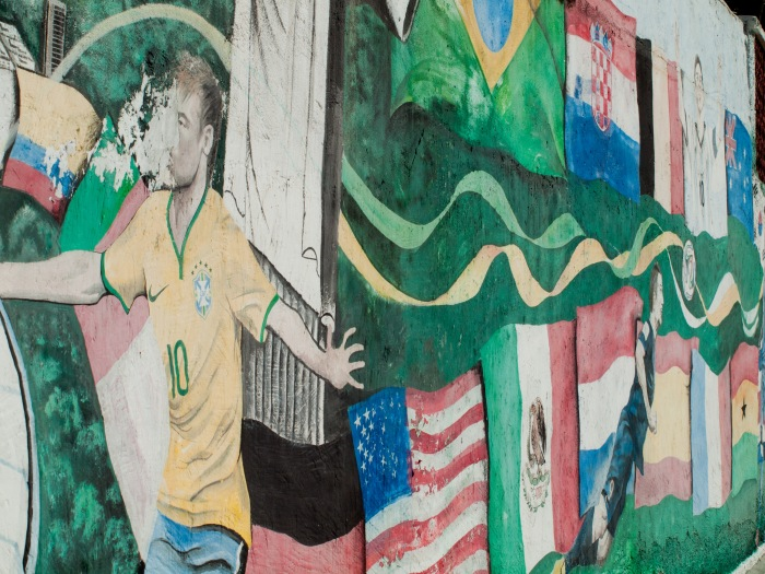 Cranford - 2014 World Cup Mural