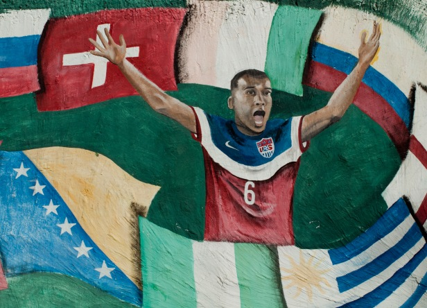 Cranford - 2014 World Cup Mural1