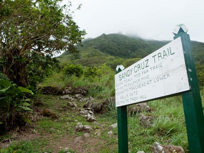 Cranford - Sandy Cruz trail