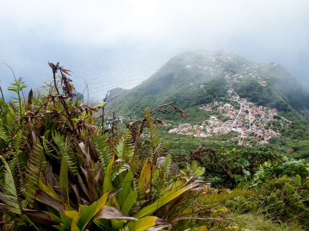 Cranford - Saba, From Mt. Scenery