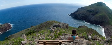 Cranford - Overlook from Saba Heritage Trail