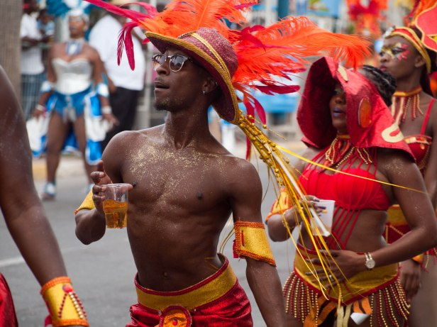 Cranford - Carnival parade in Marigot