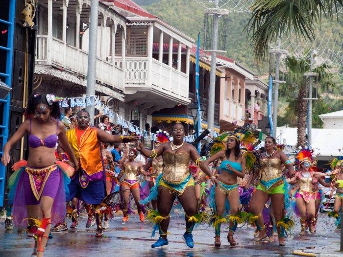 Cranford - Carnival parade in Marigot 9