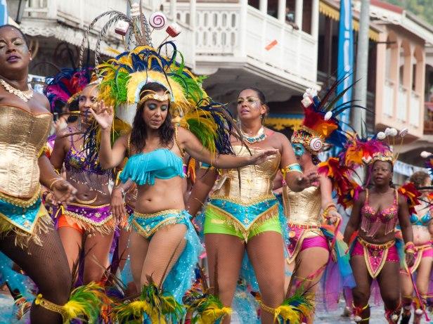 Cranford - Carnival parade in Marigot 4