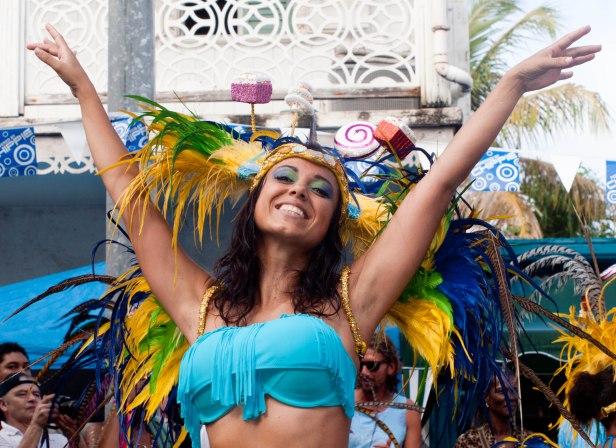 Cranford - Carnival parade in Marigot 5