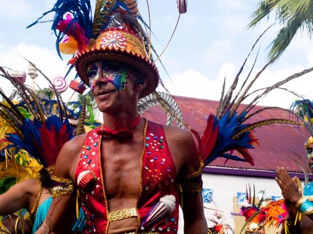 Cranford - Carnival parade in Marigot 6
